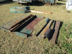 1955 Chevrolet Truck, Bed Sidesand Running Boards, And Rear Fenders
