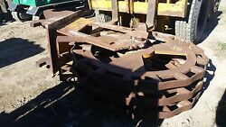 Compaction Wheel For Large Excavator- 17 Wide- Excellent Condition- With Q/c