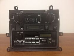 1994 JAGUAR XJ6 TAPE PLAYER/RADIO CLIMATE CONTROL *NO CODE* FREE SHIPPING! CT