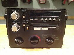 CHEVROLET CORSICA TAPE PLAYER/RADIO & CLIMATE CONTROL NOT TESTED CT