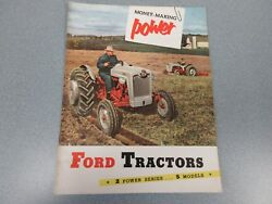 Ford 640, 650, 660, 850, 860 And Fordson Major Diesel Farm Tractor Brochure