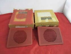 Left And Right Dash Speaker Grill 75-79 Charger Cordoba Fury Cor Nos Mopar 3501424