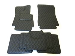 Leather Car Floor Mats Luxury Bespoke Fully Tailored Fit Mercedes G W463 2000-17