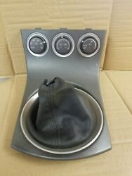 2005 Nissan 350Z 6 Speed Shifter Boot Trim & Climate Control