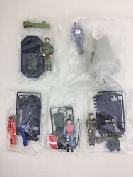 Prototype Lot Of 5 Gi Joe 1964-1994 Commemorative Collection- Astronaut And Others