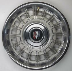 1980 Thru 1985 Buick Skylark And Special 13 Inch Stainless Steel Hubcap Original