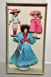 Suzanne Gibson Gay 90's Mother And Family Limited Edition Doll Set New In Box