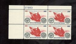 #1261 BATTLE OF NEW ORLEANS a group of 20 PLATE BLOCKS OF 4  MNH OG