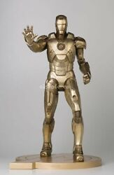 32'' copper limited edition genuine Marvel Heroes Iron Man 1:2.5 warrior statue