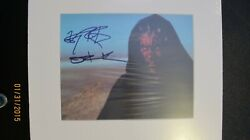 Darth Maul Picture On Tatooine Signed By Ray Park Michael Wehrmann Memorabilia