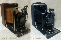 A Great Collection Of 21 Rare Vintage Photographic Cameras Made In The Ussr