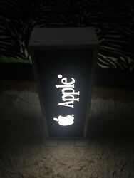Original Apple Advertising Lamp Collectable From And03990 Very Rare