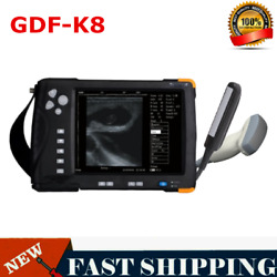 New Veterinary Ultrasound Scanner 7 Inch Lcd Screen For Cow Horse Donkey Gdf-k8