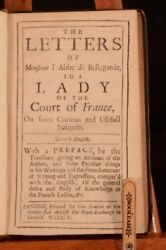 1705 The Letters Of Monsieur Land039abbe De Bellegarde To A Lady Of The Court France