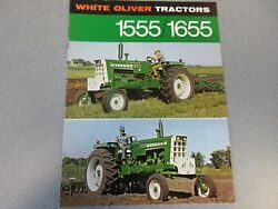 White Oliver 1555 And 1655 Farm Tractor Brochure 1970