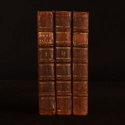 1740 3vols Quintessence Of English Poetry Beautiful Passages Poems Plays Scarce
