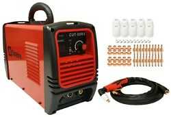 Plasma Cutter 60 Cons Simadre 50 Amp 110/220v 1/2 Cut 50rx Power Torch New