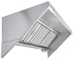 Hoodmart 11and039 X 30 Type 1 Commercial Kitchen Food Truck-concession Trailer Hood