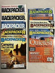 2002 Backpacker magazine complete year 9 issues $21.99