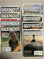 2003 Backpacker magazine complete year 9 issues $21.99