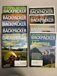 2009 Backpacker magazine complete year 9 issues $21.99