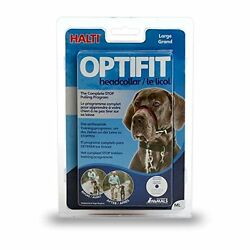Halti Opti Fit Head Collar for DogsLarge Opened Package Supports Rescue