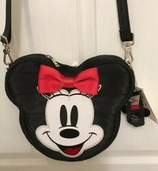 NWT HARVEYS DISNEY MINNIE MOUSE CONVERTIBLE CROSSBODY BACKPACK PURSE SOLD OUT