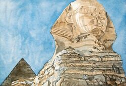 Philip Pearlstein Sphinx, 1979. Signed, Numbered, Fine Art Color Print