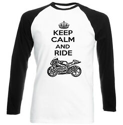 Aprilia Rs 250 1998 Keep Calm And Ride P - Cotton Tshirt - All Sizes In Stock
