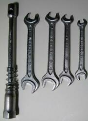 Vintage Mercedes Toolkit Wrench Set 17/19 14/17 11/13 8/10 Lug Wrench Heyco