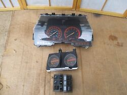 84-86 Nissan Datsun 300zx Manual Trans M/t Gauge Cluster Speedometer W/ Switches