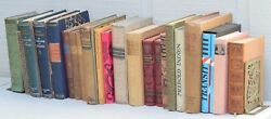 Huge Lot Of 23 Antique German Language Books Early 1900's