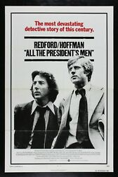 All The Presidentand039s Men ✯ Cinemasterpieces 1976 News Watergate Movie Poster