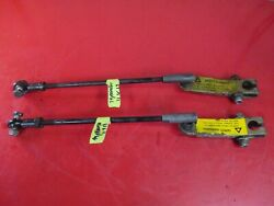 Vintage 74 Johnson Phantom 45 Snowmobile Steering Rods And Spindle Arms 35 303