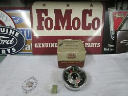 1955 Ford Nos Stem Wind Clock B5a-18374-e New In The Ford Box