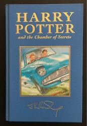 Harry Potter and the Chamber of Secrets UK 11 Deluxe signed by JK Rowling