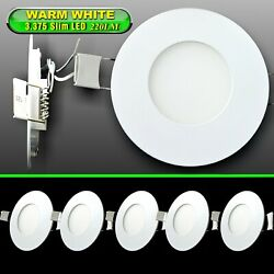 5 3.375 Down Lights Petite Led Recessed Interior Ceiling For Rvs Boats 12v Ww