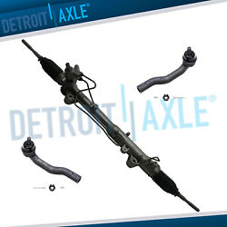 For 2007-2014 Ford Edge Lincoln Mkx Power Steer Rack And Pinion + Outer Tie Rods