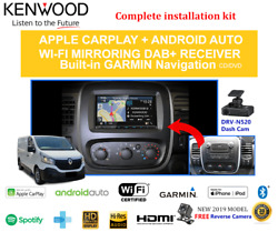 Kenwood Dnx9190dabs For Renault Trafic X82 2015 To 2018 Stereo Upgrade