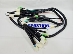 50cc Tao Tao Atm Pony Speedy Scooter Complete Wiring Harness Assembly Oem