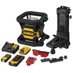 Dewalt Dw080lrs 20v Max Red Tough Cordless Tool Connect Rotary Laser Level