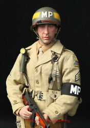 Did A80116 Wwii Us 2nd Armored Division Mp Military Police Bryan1/6 Figure Model