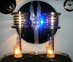 Best Art Deco Machine Age Lamps on eBay see 'em all - click the UME Store!!!