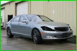 2007 Mercedes-Benz S-Class S550 AMG Package rebuild project 2007 Mercedes-Benz S550 2006 2008 2009 2010 2011 2012 2013 05 06 07 08 09 10 11