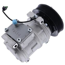 New Ac Compressor 447100-2388 For John Deere Tractor Denso 10pa17c