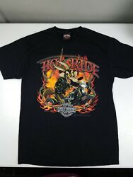 Harley Davidson Lebanon, Pa T-shirt Size Small Looney Toons Wile E.coyote