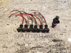 6x Rc Engineering Fuel Injector Connector Pigtails Quick Disconnect