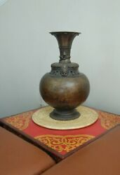 Vintage Bronze Rice Beer Pot From Himalayan Region Of Nepal Collective Art
