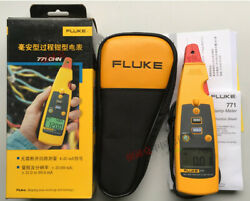 1pc For New Fluke 771 Milliamp Process Clamp Meter Dmm Test Ac Ma Tester Dhl