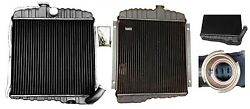 Buick Dauntless V6 New All Brass And Copper 17 Radiator